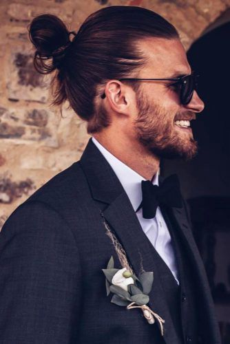 Bun Style For Special Occasion #manbun #buns