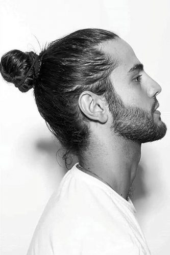 Tight And Clean Bro Knot #manbun #manupdo