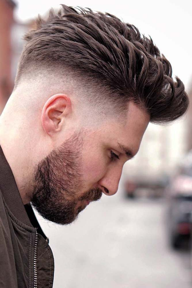 Best Spiky Styles And Cuts For Men #spikyhair #spikedhair #fade