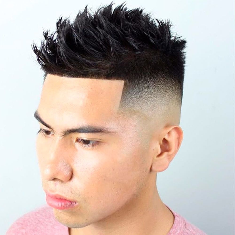 Asian-Inspired Spiky Style