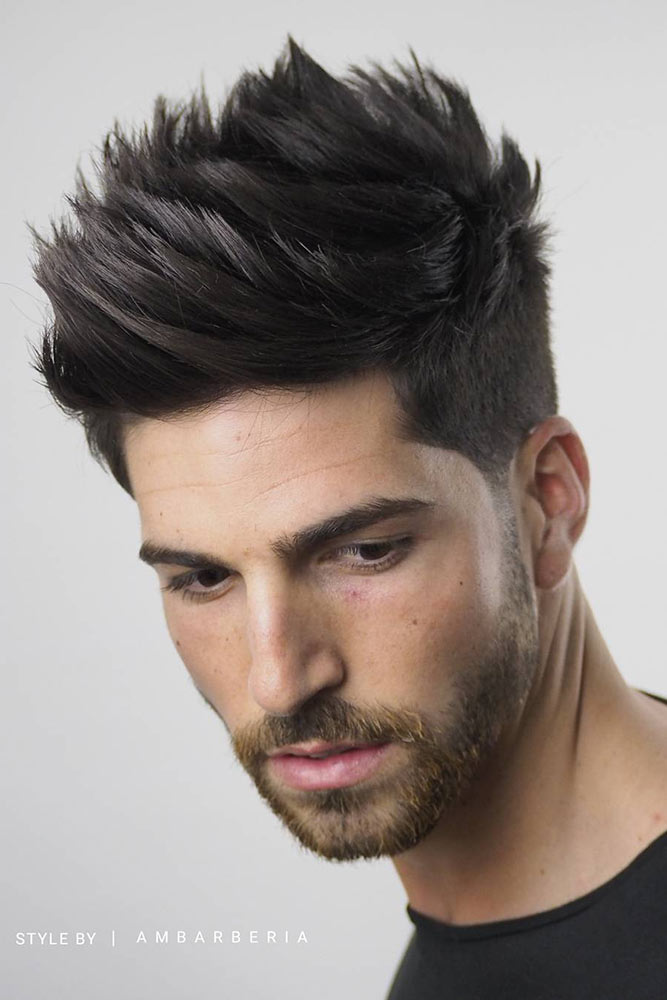 Spikes For Fine Hair #finehair #spikyhair #spikedhair