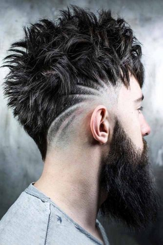 Spiky Mohawk #mohawk #spikyhair #spikedhair