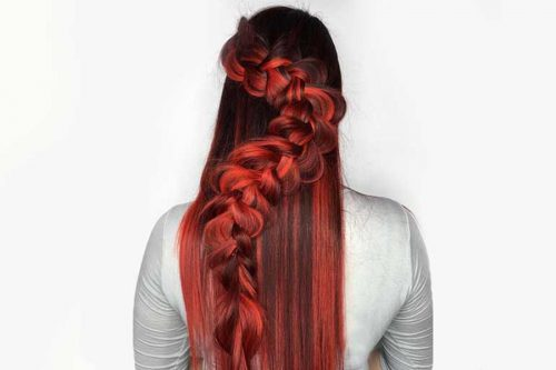 Ways To Accentuate Your Hair Color With Seductive Red Highlights