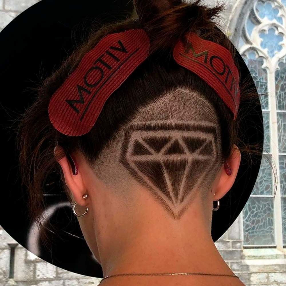 Diamonds Undercut Design