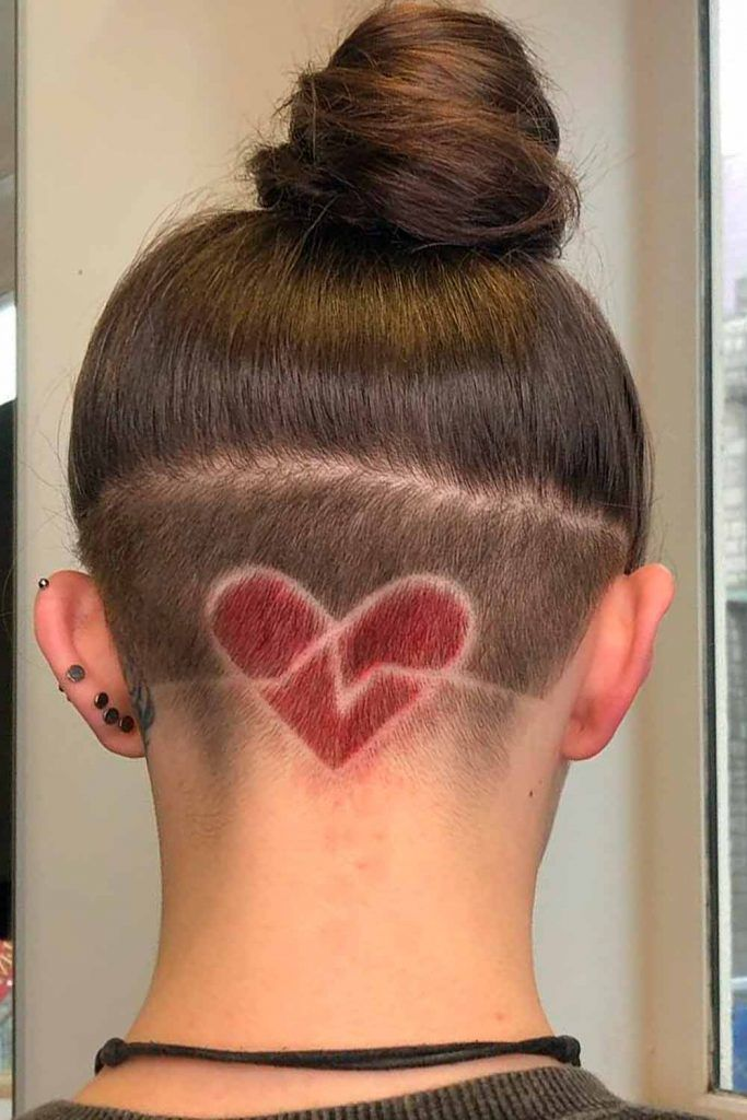 Heart Undercut Design