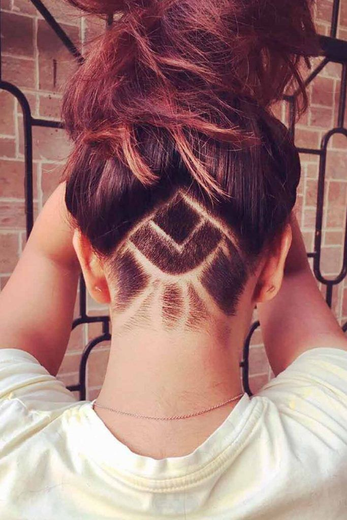 Simple But Significant Mandala Undercut
