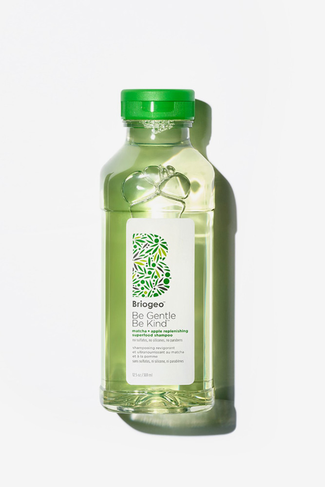Briogeo Matcha Apple Replenishing Superfood Shampoo #2ahair #wavyhair #hairtypes #hairproducts