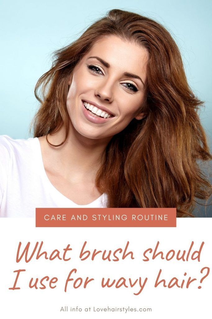 What brush should I use for wavy hair #wavyhair #hairtypes