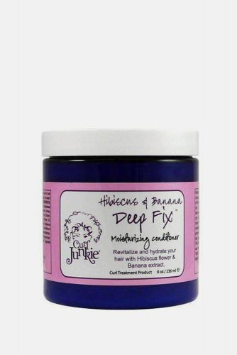 Curl Junkie Hibiscus & Banana Deep Fix Moisturizing Conditioner #2bhair #wavyhair #hairtypes #hairproducts