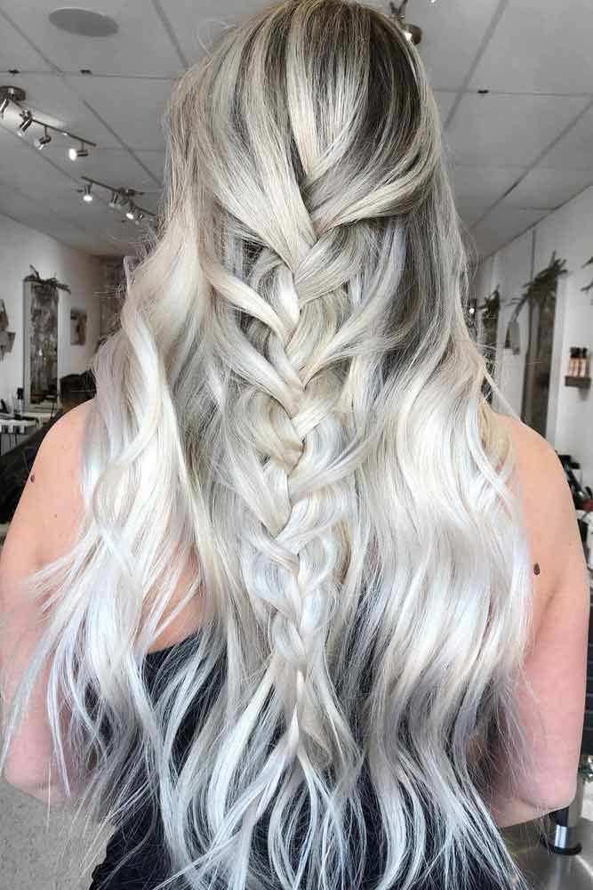 Mermaid Braid Hairstyle #wavyhair #hairtypes