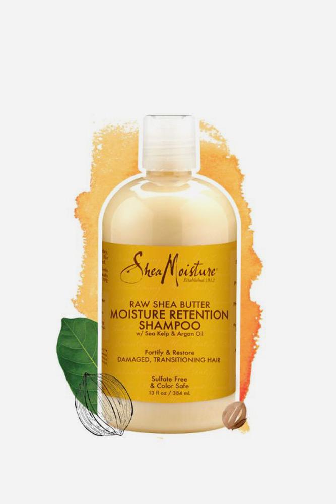 SheaMoisture Raw Shea Butter Moisture Retention Shampoo #2chair #wavyhair #hairtypes #hairproducts