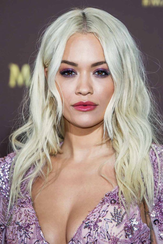 Rita Ora #wavyhair #hairtypes