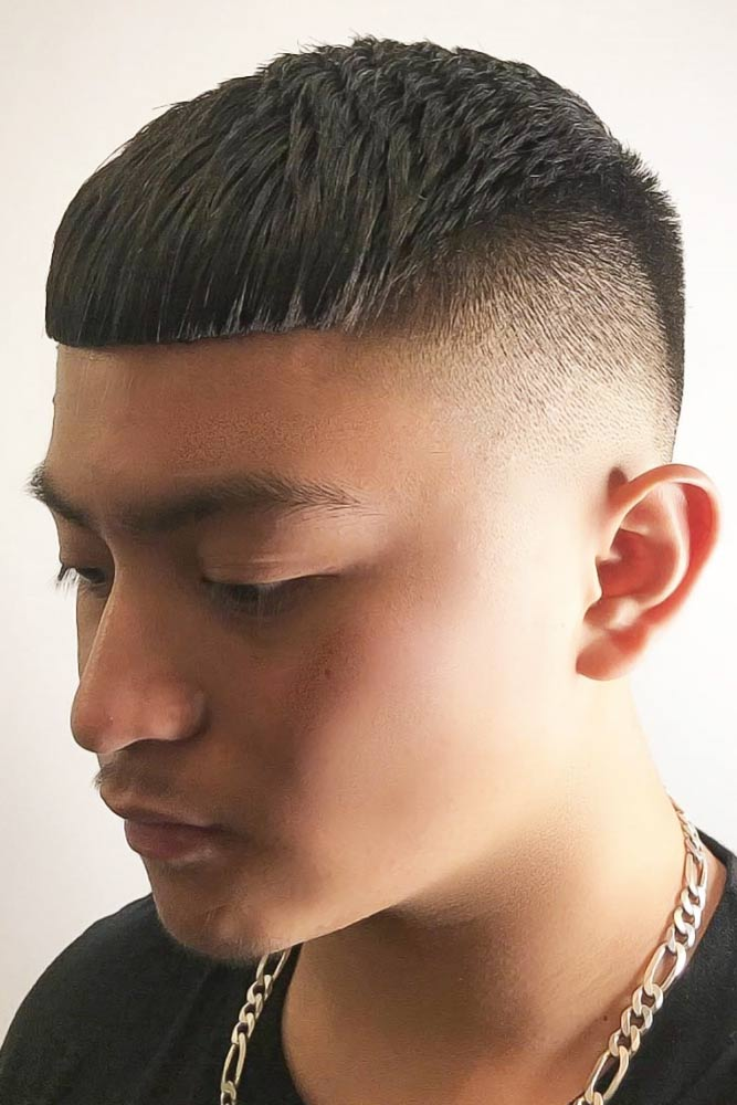Heavy Fringe #asianhairstyles