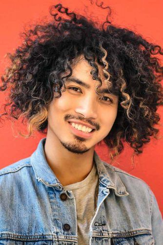 Medium Length Curls #asianhairstyles