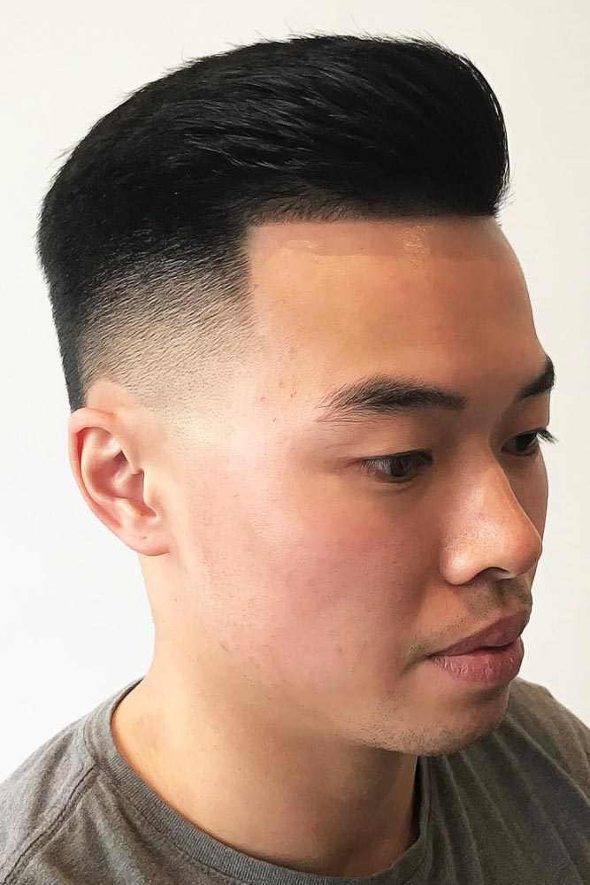 Short Pompadour #asianhairstyles
