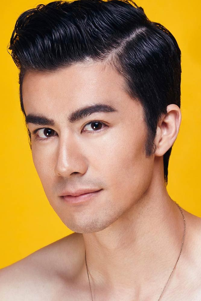 Side Parted Haircut #sidepart #asianhairstyles