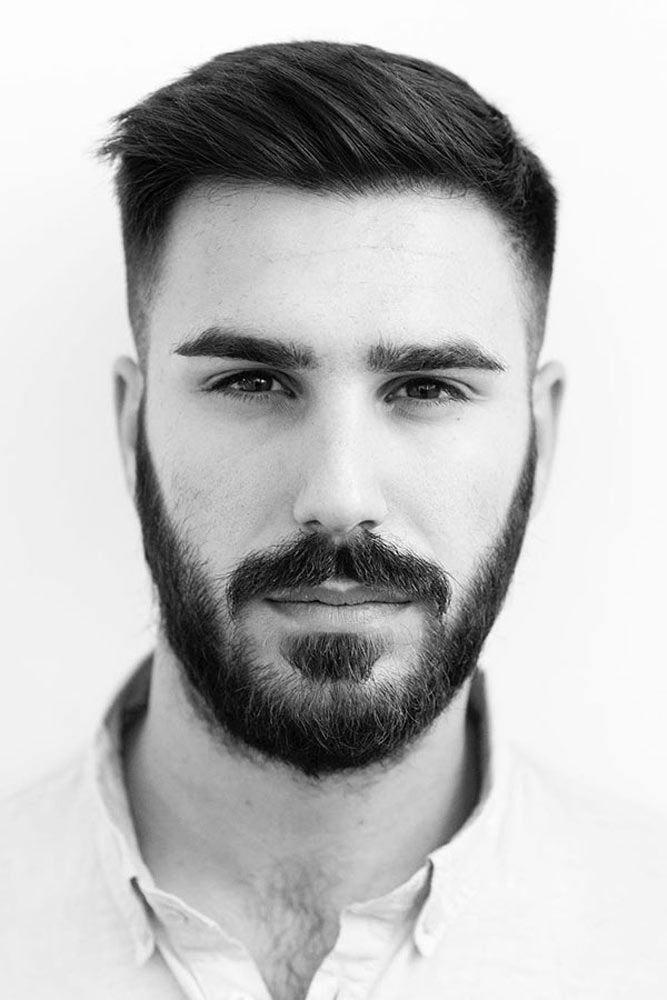 Tapered Ivy League #taperhaircut #ivyleaguehaircut #beardstyles
