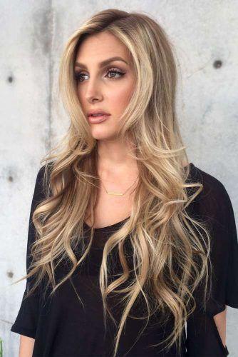 Asymmetrical Long Shag #longshaghaircut #shaghaircut #haircuts #longhair