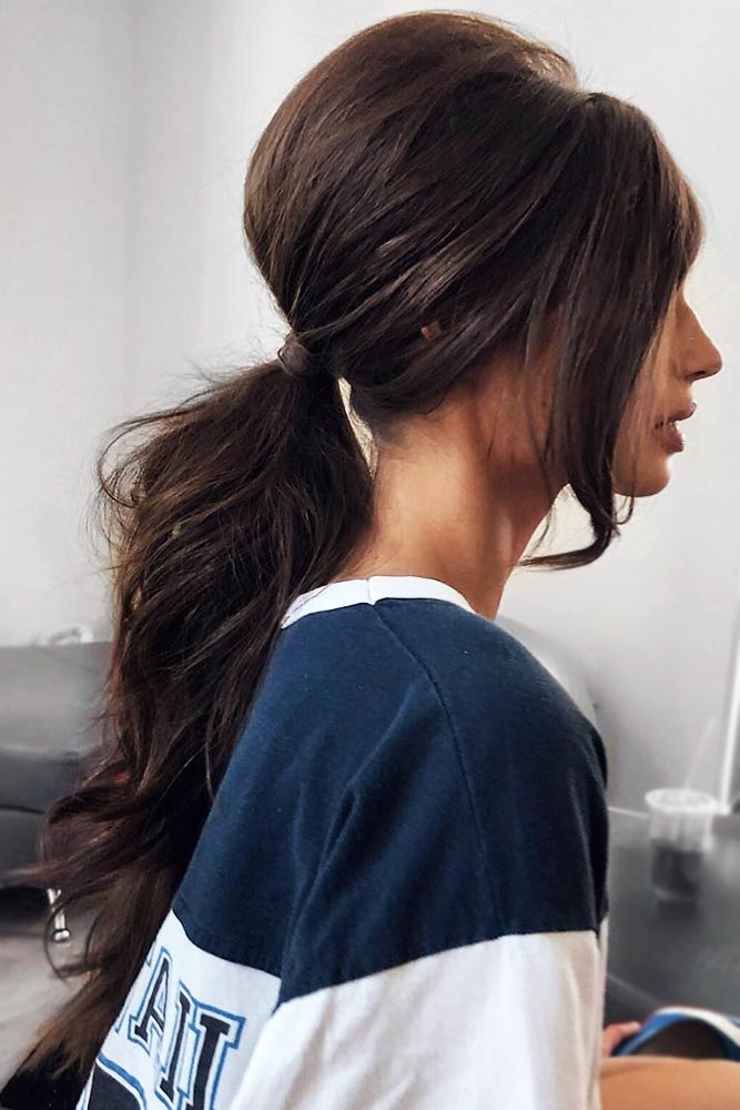 Tips On Getting A Perfect Low Ponytail #ponytail