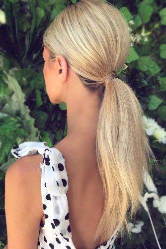 Low Sleek Pony #ponytail