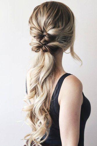 Topsy Tail Pony #updo #ponytail #braids