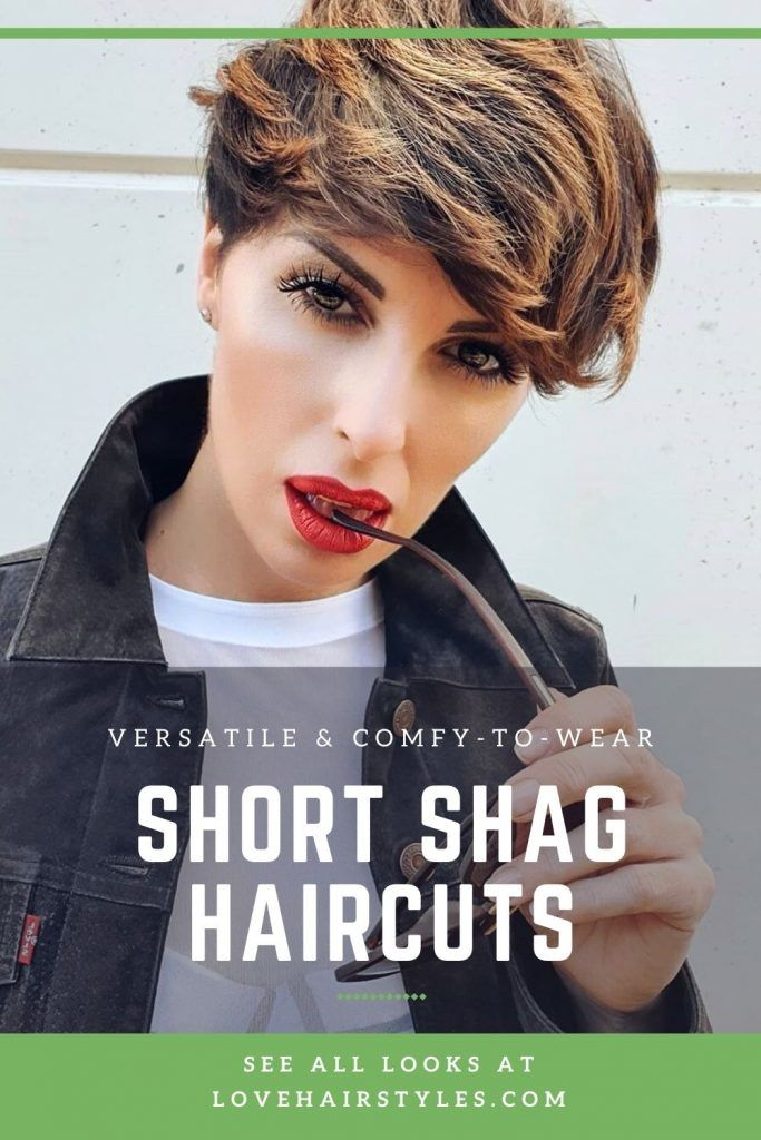 What Does A Short Shag Haircut Look Like? #shortshaghaircuts #shorthaircuts #haircuts #shaghaircuts