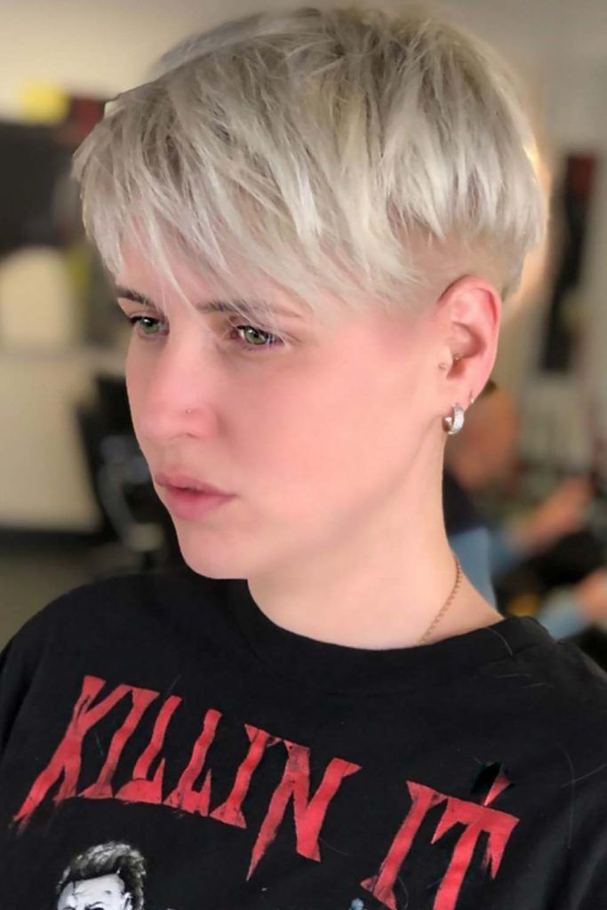 Pixie With Nape Undercut #shortshaghaircuts #shorthaircuts #haircuts #shaghaircuts