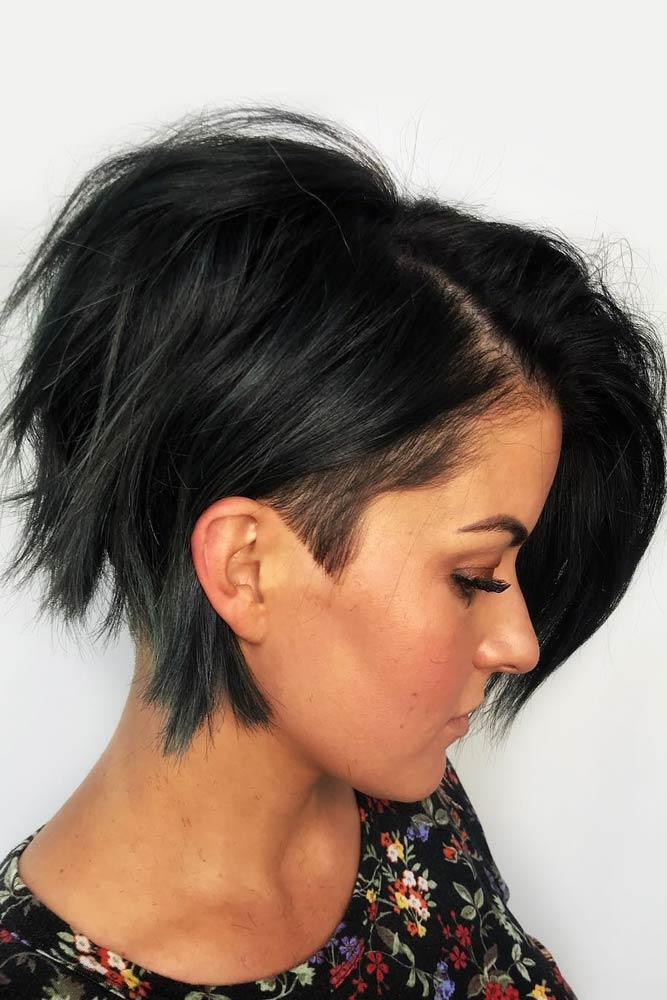 Pixie Bob With Undercut #shortshaghaircuts #shorthaircuts #haircuts #shaghaircuts #pixiebob