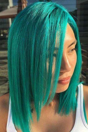 Teal Hair Color #tealhair