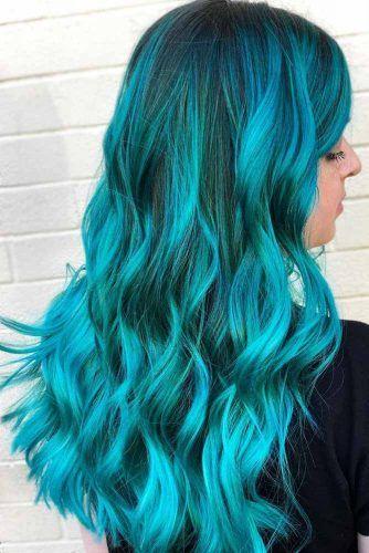 Aquamarine Teal #tealhair