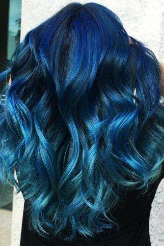 Denim Teal #tealhair #bluehair #balayage