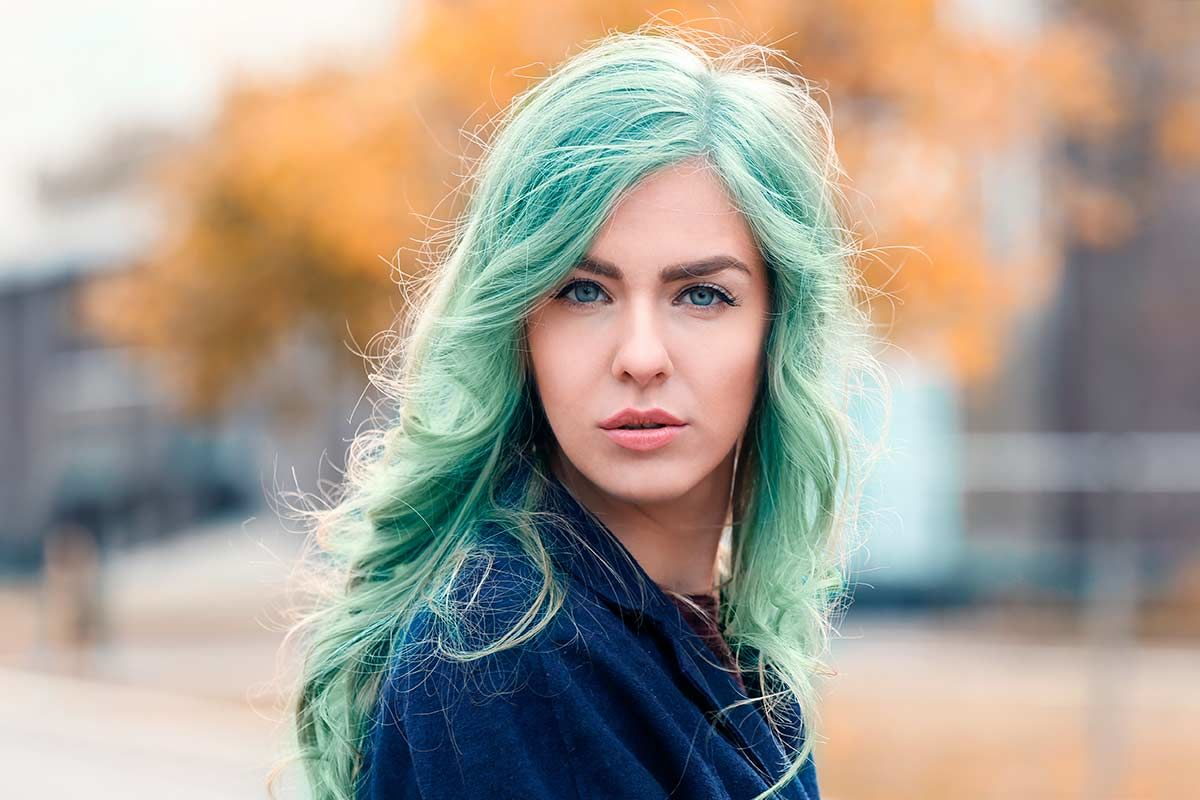 Explore The Teal Hair Color Palette: Saturated, Deep, And Pastel Hues