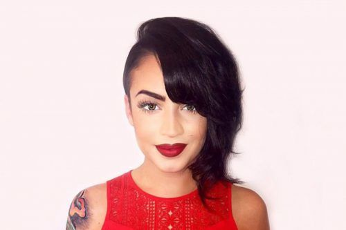 The Timeless Undercut Bob Haircut Embrace Two Trends Rolled Into One