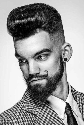 Classy Van Dyke Beard With Sideburns #vandykebeard #beard #beardstyles