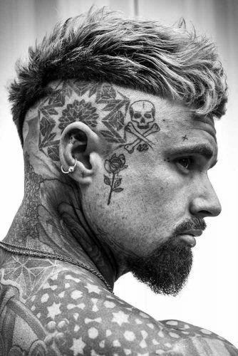 Rockabilly Beard #tattoo #vandykebeard #beard #beardstyles