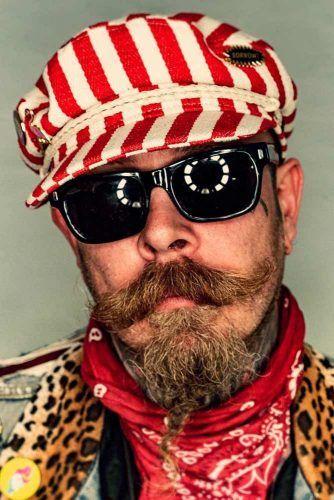 Texas Van Dyke Beard #vandykebeard #beard #beardstyles