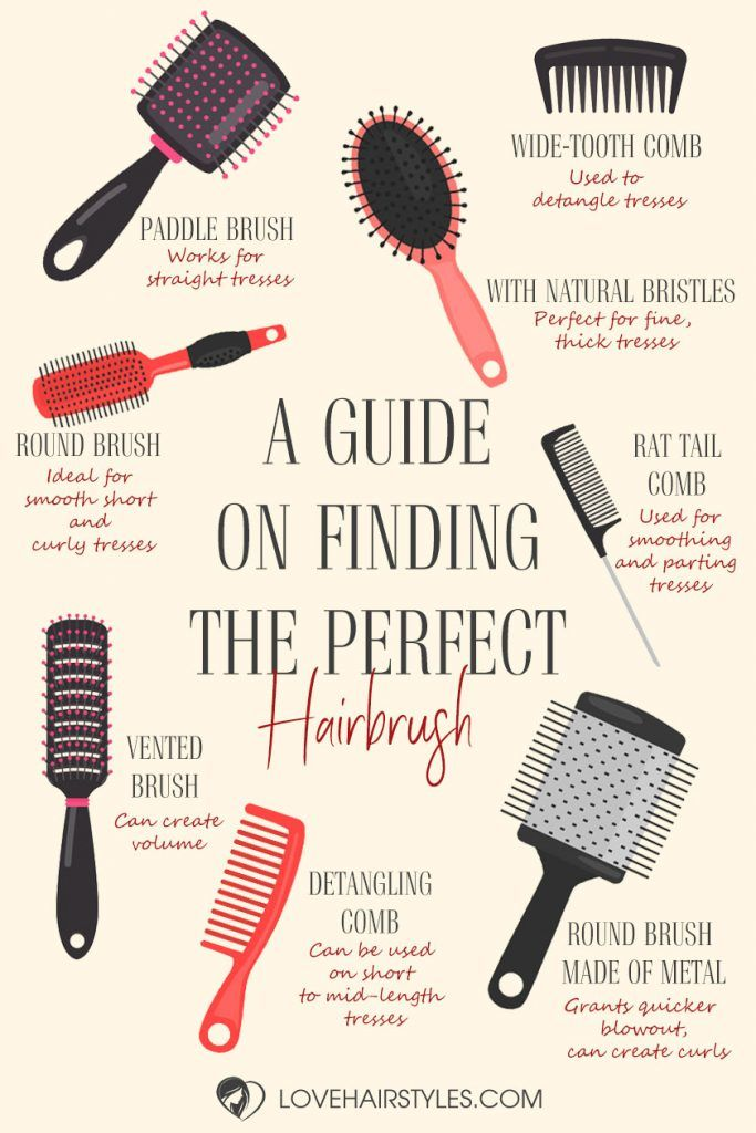 The Hair Brush Review 22 The Most Recommended Tools For All Hair Types Infographics