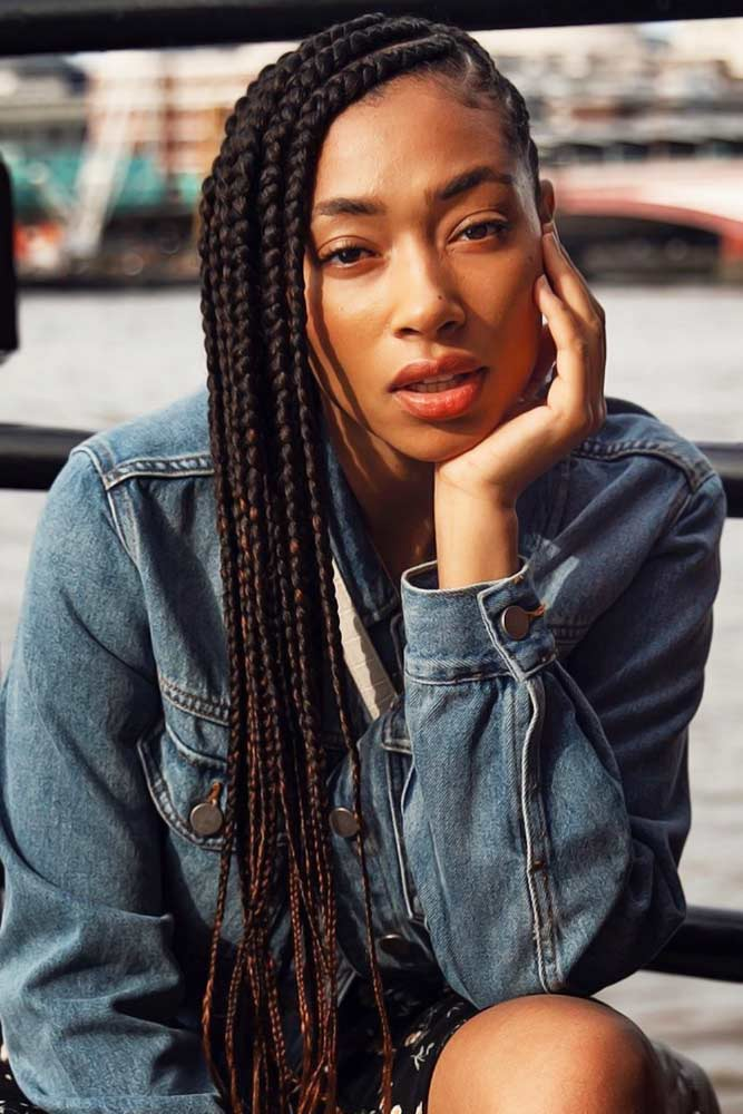 Iconic Lemonade Braids #braids #naturalhair