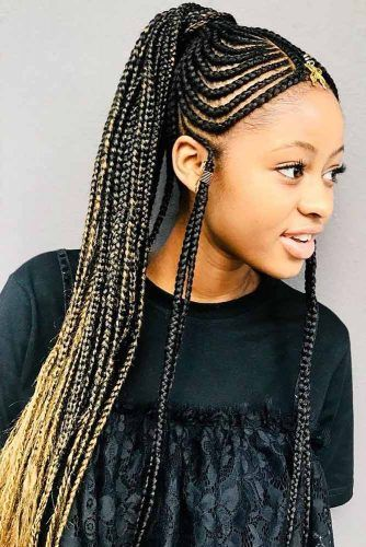 30 Attention Grabbing Fulani Braids Ideas To Copy In 2019