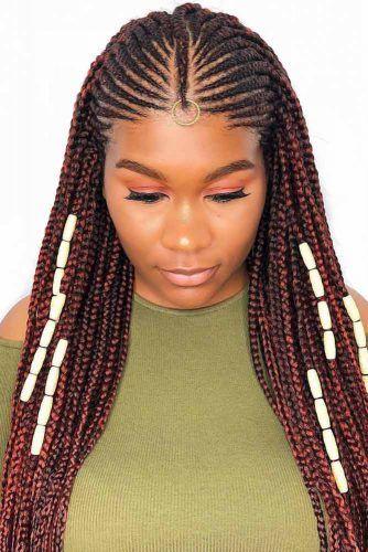 Fulani Braids With Massive Ivory Beads #fulanibraids #braids