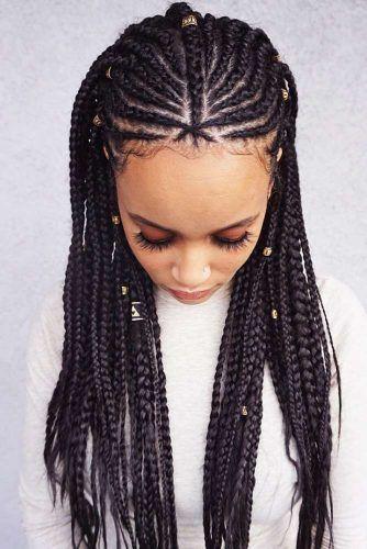 Nubian Princess Fulani Braids #fulanibraids #braids