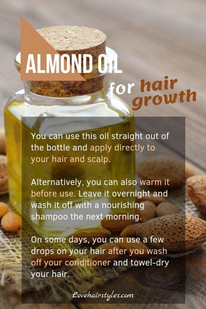 Almond Oil #hairgrowthtips #hairoil