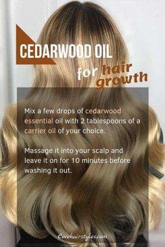Cedarwood Essential Oil #hairgrowthtips #hairoil