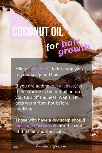 Coconut Oil #hairgrowthtips #hairoil
