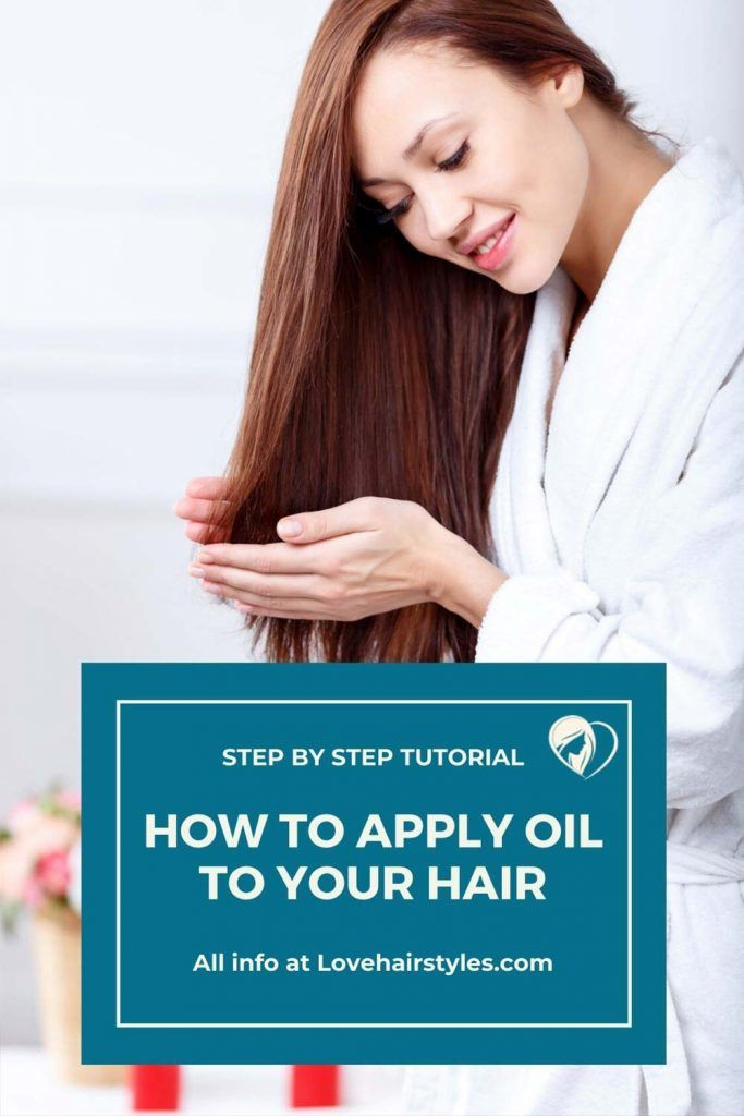 How To Apply Oil To Your Hair #hairgrowthtips #hairoil