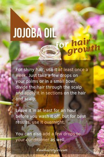 Jojoba Oil #hairgrowthtips #hairoil