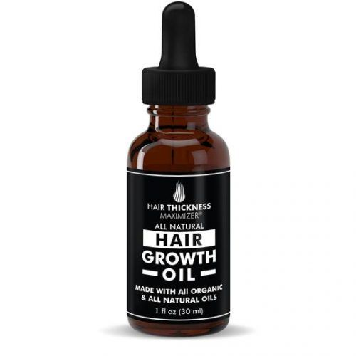 Organic Hair Growth Oil By Hair Thickness Maximizer #hairgrowthtips #hairoil