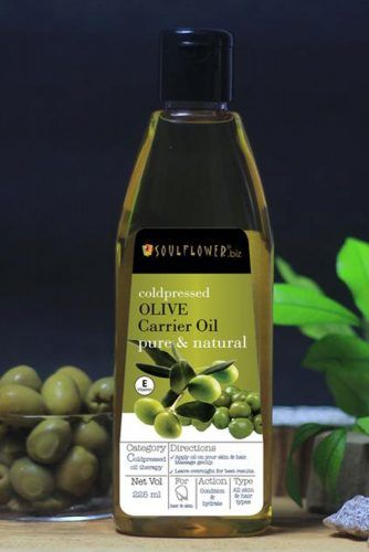 Soulflower Coldpressed Olive Carrier Oil #hairgrowthtips #hairoil