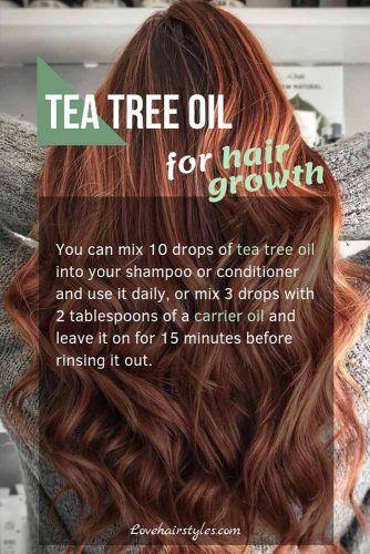 Tea Tree Oil #hairgrowthtips #hairoil