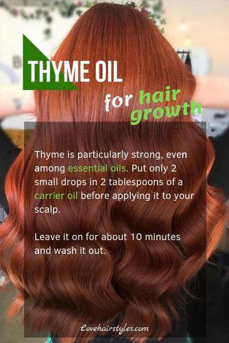 Thyme Oil #hairgrowthtips #hairoil